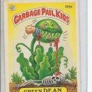 (B-1) 1986 Garbage Pail Kids #105b: Green Dean