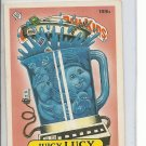 (B-1) 1986 Garbage Pail Kids #189b: Juicy Lucy
