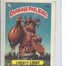 (B-1) 1986 Garbage Pail Kids #113b: Liberty Libby
