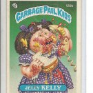 (B-1) 1986 Garbage Pail Kids #120b: Jelly Kelly - penned name on back