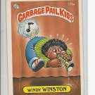 (B-1) 1986 Garbage Pail Kids #175a: Windy Winston