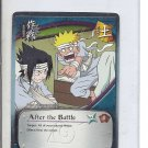 (B-1) 2006 Naruto CCG Card #021: After the Battle - Gold Name