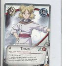 (B-1) 2006 Naruto CCG Card #060: Temari - Gold Name