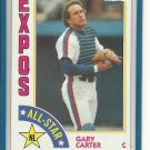 (B-1) 1984 Topps #393: Gary Carter - NL All-Star