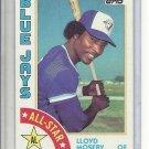 (B-1) 1984 Topps #403: Lloyd Moseby - AL All-Star