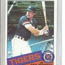 (B-1) 1985 Topps #368: Dave Bergman - minor Off-Set Cut