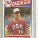 (B-1) 1985 Topps #393: Scott Bankhead - Rookie - USA Baseball series