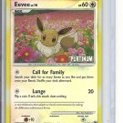 (B-1) 2008 Pokemon Platinum #62/100: Eevee - Reverse Hologram