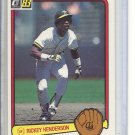 (B-1) 1983 Donruss #35: Rickey Henderson