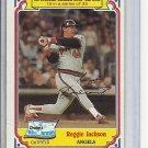 (B-1) 1984 Drake's / Topps #15: Reggie Jackson - wrinkled corner