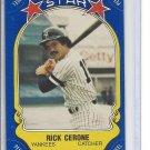 (B-1) 1981 Fleer Star Sticker #88: Rick Cerone