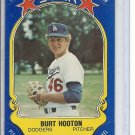 (B-1) 1981 Fleer Star Sticker #61: Burt Hooten