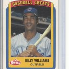 (B-1) 1990 Swell Baseball Greats #13: Billy Williams