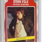 (B-1) 1980 Star Wars- The Empire Strikes Back #4: Han Solo - Star File