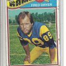 (B-1) 1977 Topps Football #513: Fred Dryer - rough cond.