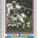 (B-1) 1974 Topps Football #87: Mike Phipps