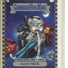 (B-1) 2010 Garbage Pail Kids- Where Are They Now? #71a: Nasty Nick - Silver