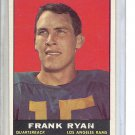 (B-1) 1961 Topps Football #48: Frank Ryan