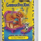 (B-1) 2011 Garbage Pail Kids - Where Are They Now? #77a: Ultra Violet - Yellow