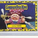 (B-1) 2011 Garbage Pail Kids Flashback #57a: Cute Tippi - Yellow Border