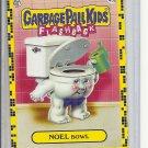 (B-1) 2011 Garbage Pail Kids Flashback #45b: Noel Bowl - Yellow Border