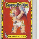 (B-1) 2011 Garbage Pail Kids Flashback #41a: Hector Collector - Yellow Border
