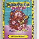(B-1) 2011 Garbage Pail Kids Flashback #25a: Hairy Harriet- Yellow Border