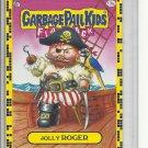 (B-1) 2011 Garbage Pail Kids Flashback #13a: Jolly Roger- Yellow Border