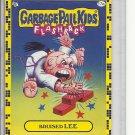 (B-1) 2011 Garbage Pail Kids Flashback #17a: Bruised Lee - Yellow Border