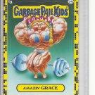 (B-1) 2011 Garbage Pail Kids Flashback #24a: Amazin' Grace - Yellow Border