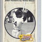 (B-1) 1993 Upper Deck Baseball Heroes #49 of 54: Willie Mays