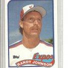 (B-1) 1989 Topps #647: Randy Johnson - Rookie