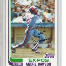 (B-1) 1982 Topps #540: Andre Dawson
