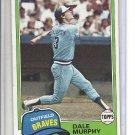 (B-1) 1981 Topps #504: Dale Murphy