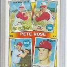 (B-1) 1988 Topps #3- Pete Rose
