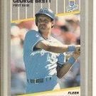 (B-2) 1989 Fleer #277: George Brett