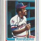 (B-2) 1982 Topps #590: Al Oliver