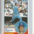 (B-2) 1983 Topps #665: Jim Sundberg