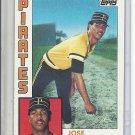 (B-2) 1984 Topps #581: Jose DeLeon - Rookie
