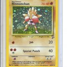 (B-2) 2000 Pokemon card #8/130: Hitmonchan - Hologram