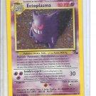 (B-2) 2000 Pokemon card #5/62: Ectoplasma - Hologram - creased