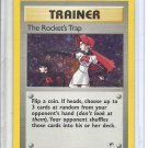 (B-2) 2000 Pokemon card #19/132: Trainer Rocket's Trap - Hologram