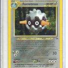 (B-2) 2001 Pokemon card #2/75: Forretress - Hologram