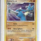 (B-2) 2007 Pokemon card #3/11: Lucario - Hologram