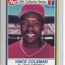 (B-2) 1991 Post Collector's Series #5 of 30: Vince Coleman