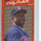 (B-2) 1990 Donrus #BC-8: Kirby Puckett MVP