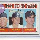 (B-2) 1969 Topps #611: Braves Rookie Stars - Didier, Hriniak, Neibauer