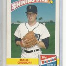 (B-2) 1989 Topps / Bazooka Gum #11 of 22: Paul Gibson