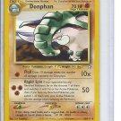 (B-2) 2000 Pokemon card #21/111: Donphan
