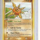 (B-2) 2006 Pokemon card #25/92: Solrock